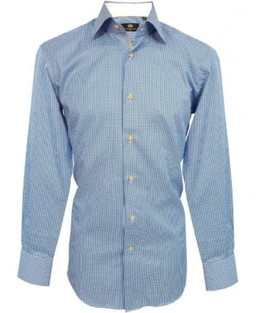 Circle of Gentlemen Blue Pattern 4339 Rankin Shirt