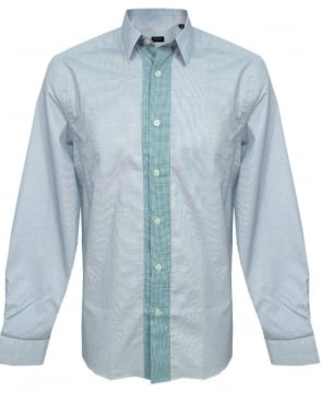 Paul Smith - PS Blue Pattern Shirt PKXD/711M/806