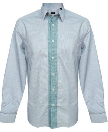 Paul Smith - PS Blue Pattern Shirt PKXD/711M/806