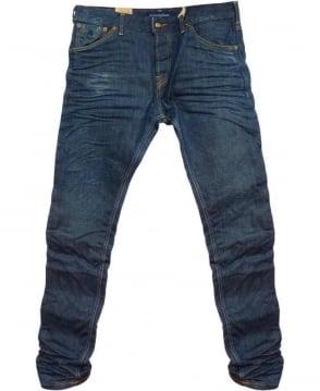 Scotch & Soda Blue Phaidon Super Slim Jeans 85013