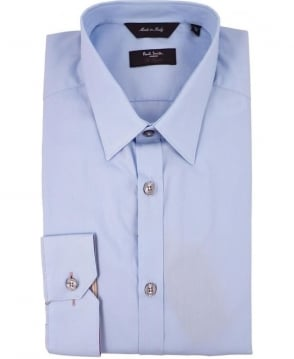 Paul Smith  Blue PMXL/916M/K01 Signature Stripe Cuff Shirt
