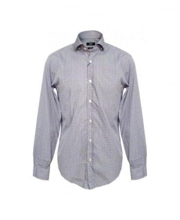 Hugo Boss Blue & Polka Dot Mason Shirt 50259021