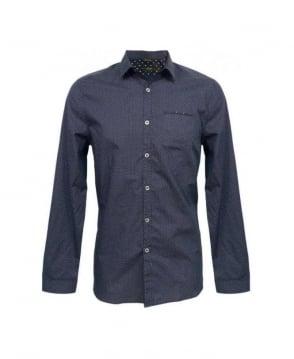 Paul Smith  Blue Polka Dot Slim Fit Shirt
