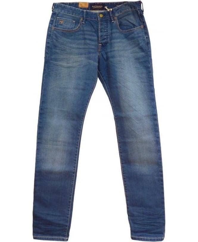 Scotch & Soda Blue Ralston Slim Fit Jeans