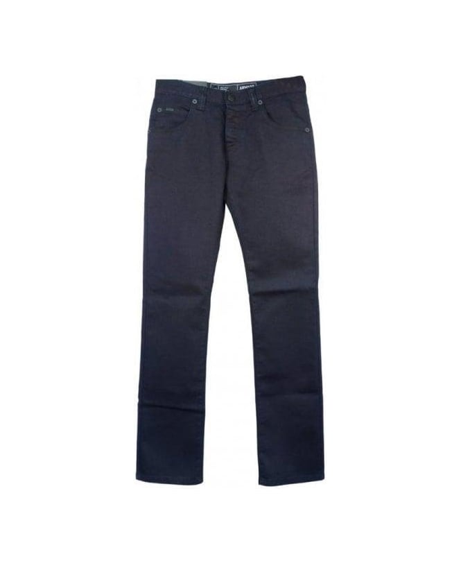 Armani Collezioni Blue Regular Fit J08 Jeans