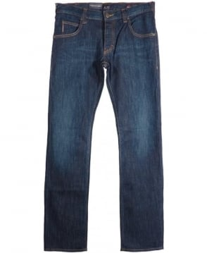 Armani Jeans Blue Regular Fit J08 Jeans