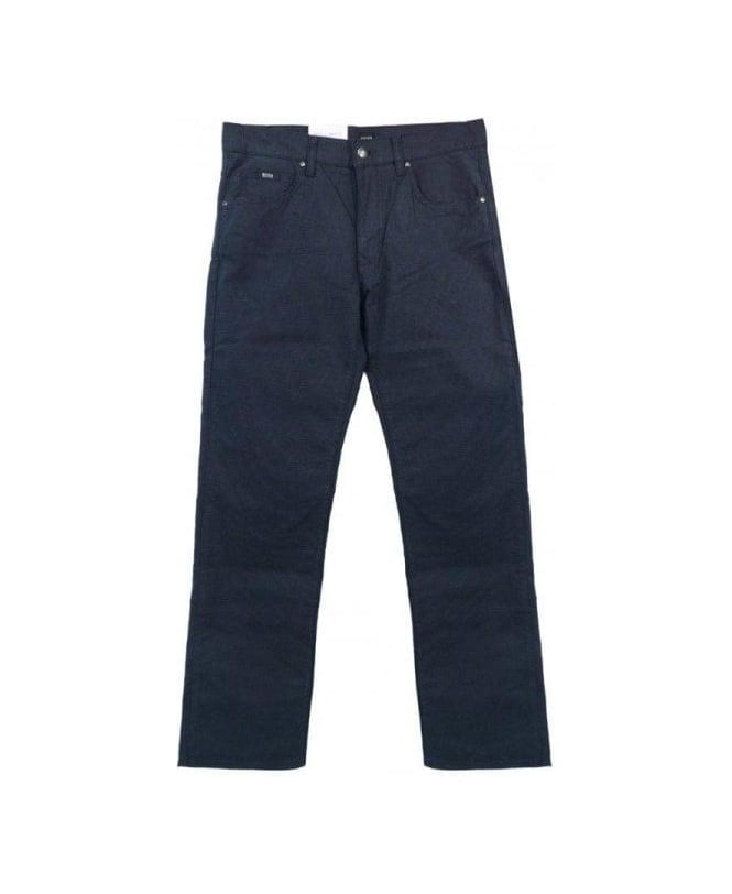 Hugo Boss Blue Regular Fit Kansas-10 Jeans