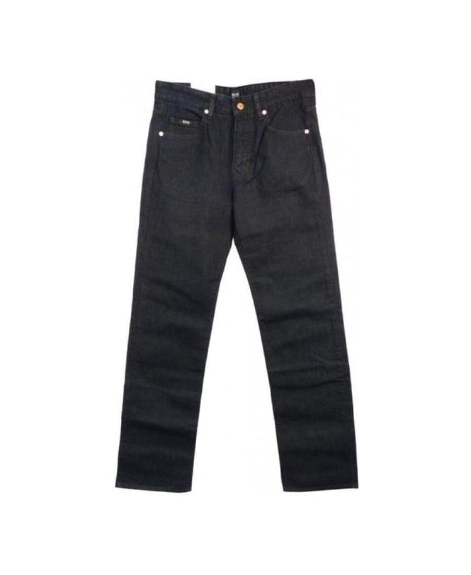 Hugo Boss Blue Regular Fit Kansas Jeans