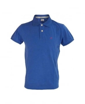 Replay Blue Regular Fit Polo