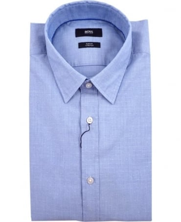 Hugo Boss Blue Ronni_2 50308107 Spot Pattern Shirt
