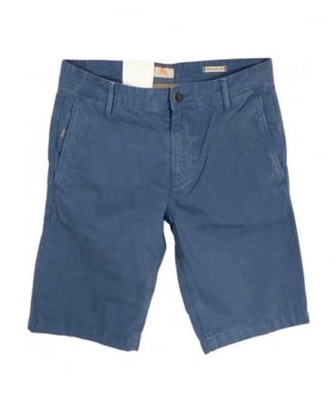 Hugo Boss Blue Schino Logo Shorts