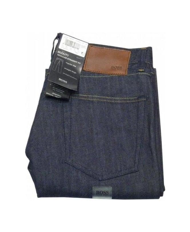 Hugo Boss Blue Scout 1 Regular Fit Jeans