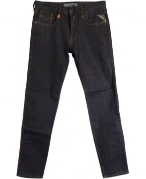 Replay Blue Slim Fit Anbass Jeans