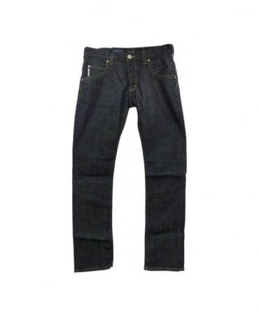 Armani Blue Slim Fit J08 Jeans
