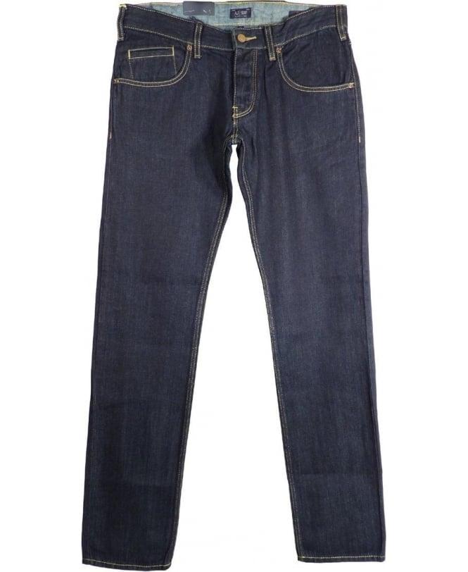 Armani Jeans Blue Slim Fit J23 Jeans Z6J23