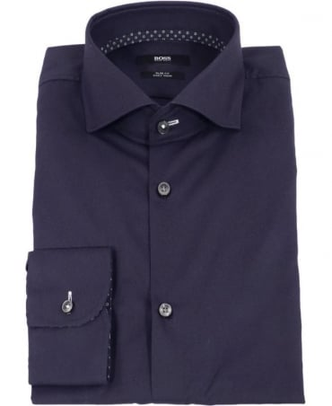 Hugo Boss Blue Slim Fit Jery Shirt