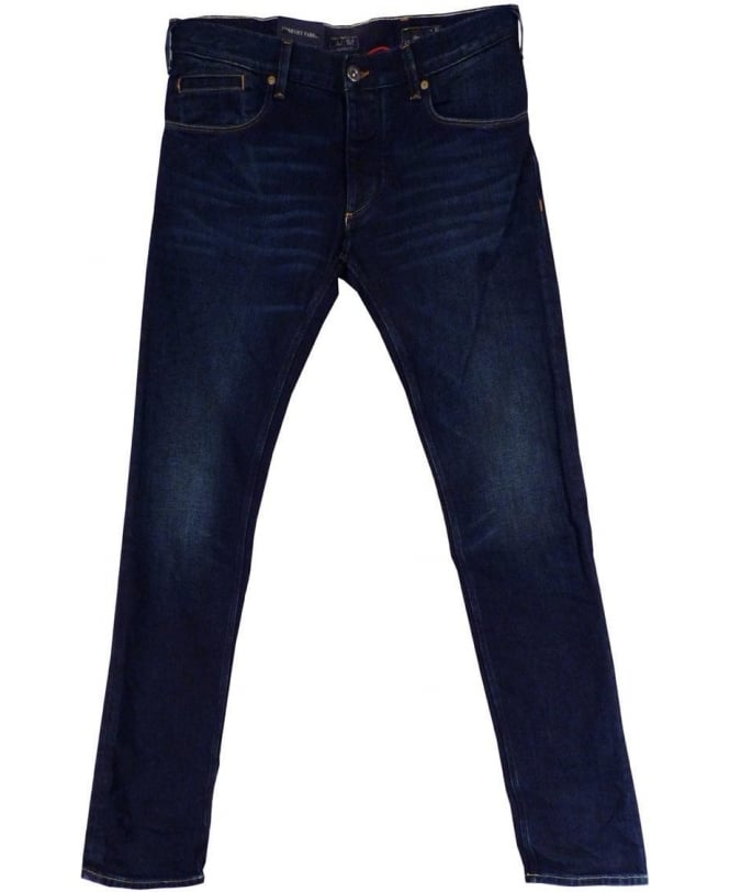 Armani Jeans Blue Slim Fit Low Waist J23 Jeans