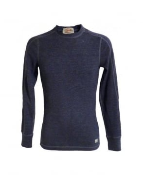Replay Blue Slim Fit Sweatshirt