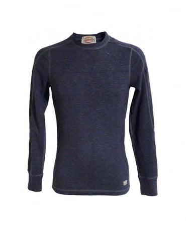 Replay Blue Slim Fit Sweatshirt
