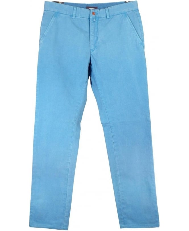 Gant Blue Soho Zip Fly Chino