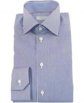 Eton Shirts Blue Stripe 365079511 Slim Fit Shirt