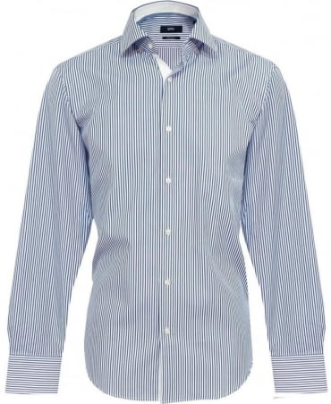Hugo Boss Blue Stripe Eraldin Shirt 50260260