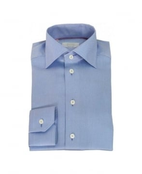 Eton Shirts Blue Stripe Shirt