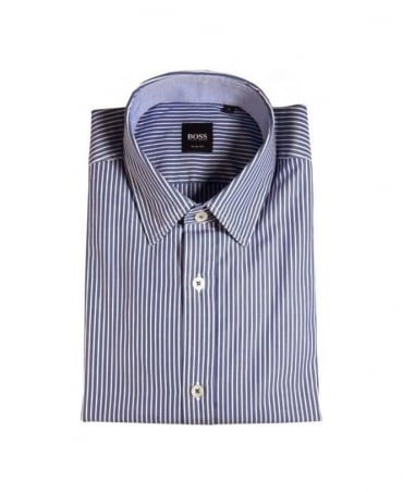 Hugo Boss Blue Stripes Ronny Shirt
