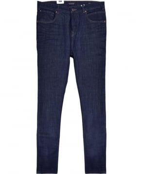 Scotch & Soda Blue Super Skinny Fit Dart Jean