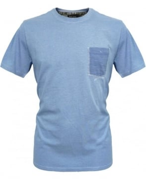 Paul Smith  Blue T-Shirt JKFJ/201N/737P