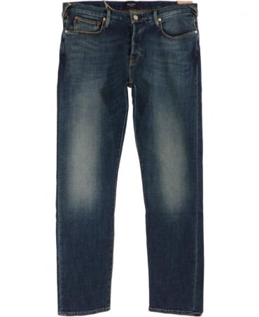 Paul Smith - Jeans Blue Tapered Fit Jeans JLCJ 301M 409