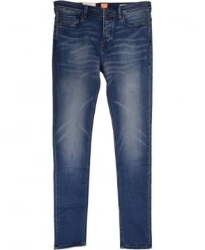 Hugo Boss Blue Tapered Fit 'Orange 90' Jean