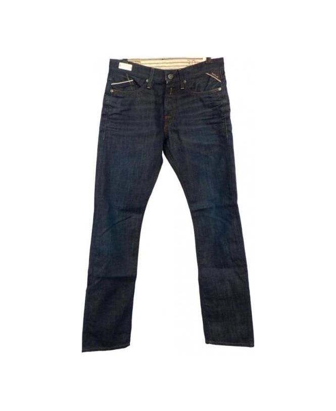 Replay Blue Waitom Slim Fit Jeans M983