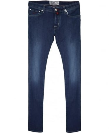 Blue Wash J622 COMF Fit Hand Made Jeans