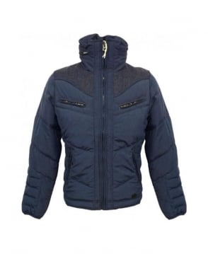 Diesel Blue Welger Hooded Jacket