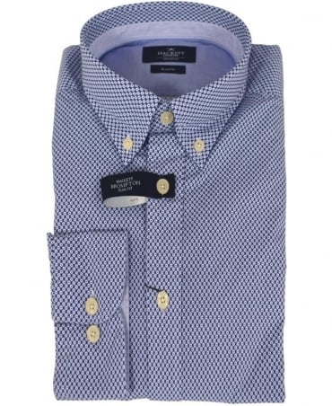 Hackett Blue/White Daisy Print HM305098/AR Shirt