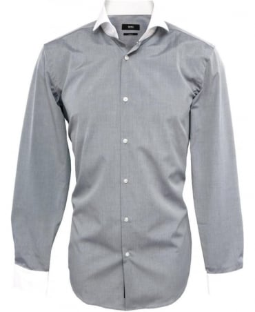 Hugo Boss Blue & White Johan Shirt 50260078