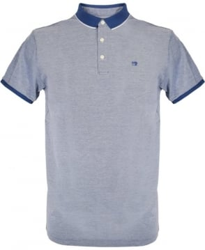 Scotch & Soda Blue With Contrast 136526 Polo Shirt