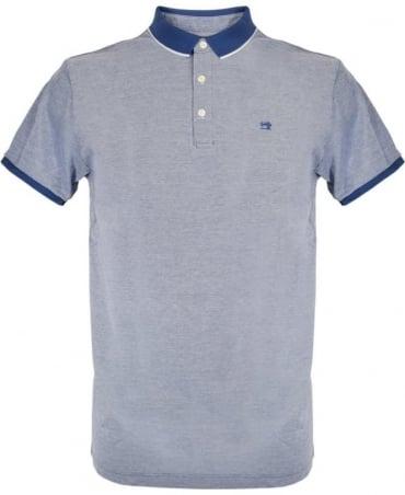 Scotch & Soda Blue With Contrast 136526 Polo Shirt