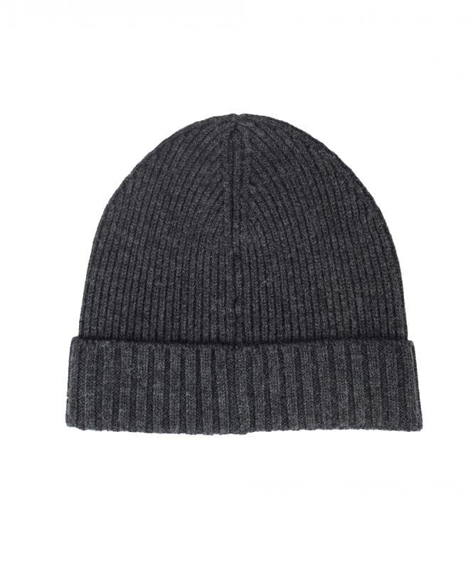 193be7891 Grey Ribbed Fati 03 Beanie Hat