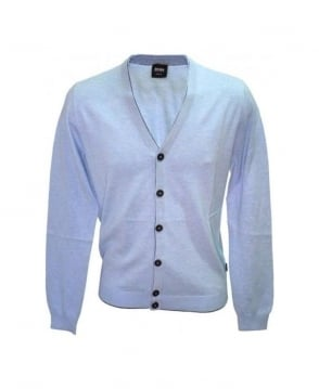 Hugo Boss Light Blue Taru Cardigan