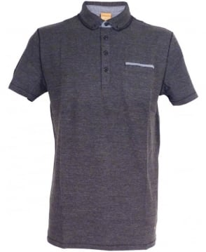 Hugo Boss Boss Orange Grey 'Patcherman 1' Polo