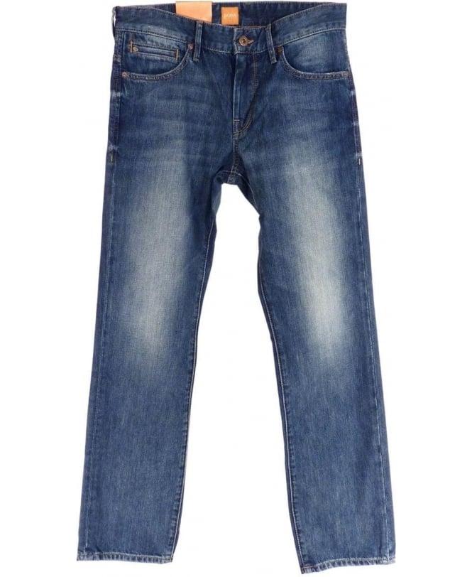 Hugo Boss Boss Orange 'Orange 24 Barcelona' Regular Fit Jeans