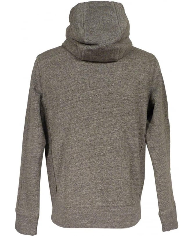 5d8e5e3a40b Boss  Ztadium  Hooded Sweatshirt In Light Grey - Sweatshirt from ...
