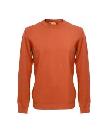 Hugo Boss Brick Kladio Knitwear Jumper