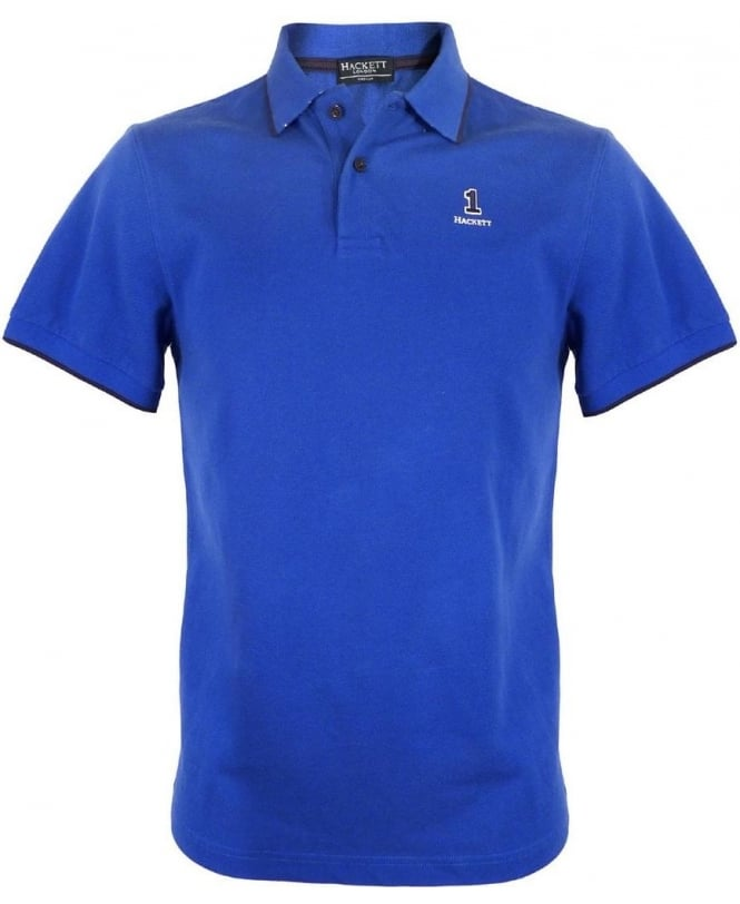Hackett Bright Blue 560879 Polo