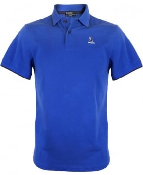 Hackett Bright Blue 560879 Slim Fit Polo