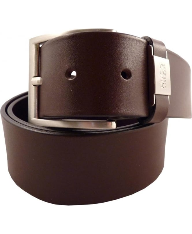 Hugo Brown 50292592 C-Connio 40mm Width Belt
