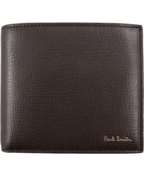 Paul Smith  Brown ANXA-1032-W714 Coin Pocket Wallet