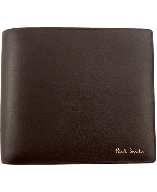 Paul Smith Brown ANXA-1032-W729 Eight Card Billfold Wallet